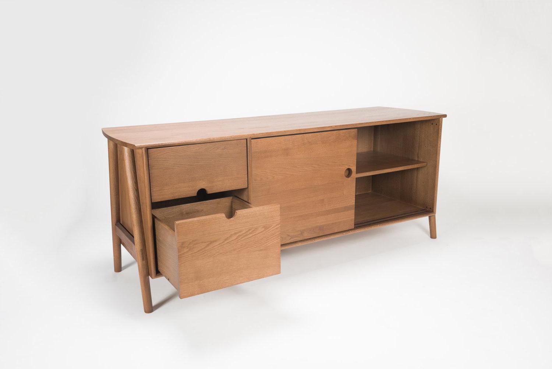 2019 Sienna Sideboards Pertaining To Woodbine Sideboard, Sienna, Midcentury Sideboard In Wood (Gallery 18 of 20)