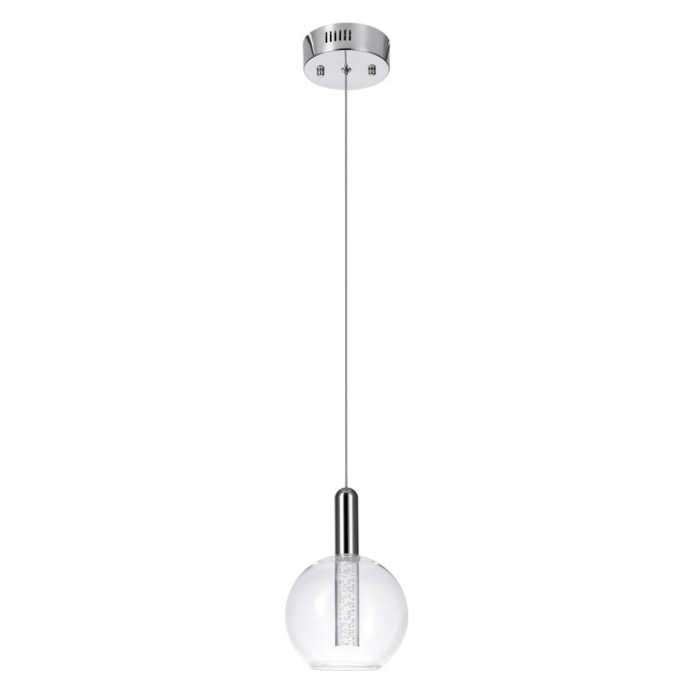 2019 Sipos 1 Light Led Single Globe Pendant Inside Oldbury 1 Light Single Cylinder Pendants (View 3 of 20)