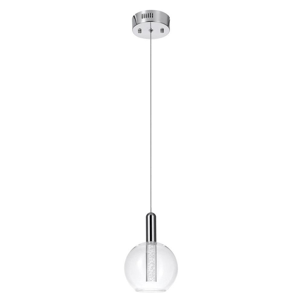 2019 Sipos 1 Light Led Single Globe Pendant Inside Oldbury 1 Light Single Cylinder Pendants (View 3 of 20)