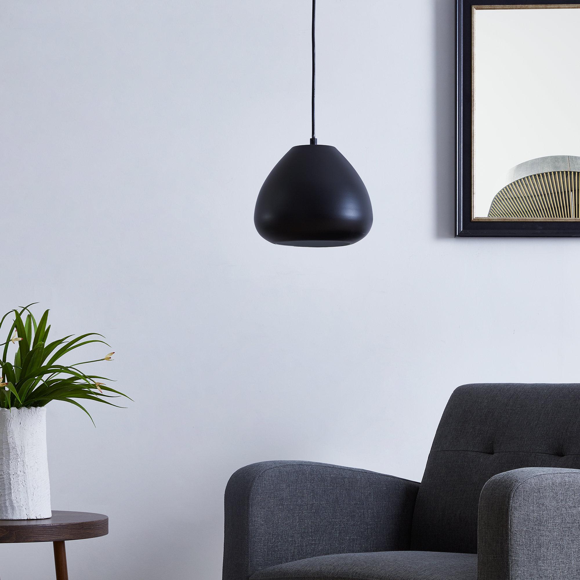 2019 Thomasson 1 Light Single Dome Pendant Inside Ryker 1 Light Single Dome Pendants (Gallery 5 of 20)