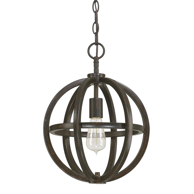 2019 Trent Austin Design Irwin 1 Light Single Globe Pendant Regarding Kilby 1 Light Pendants (View 1 of 20)