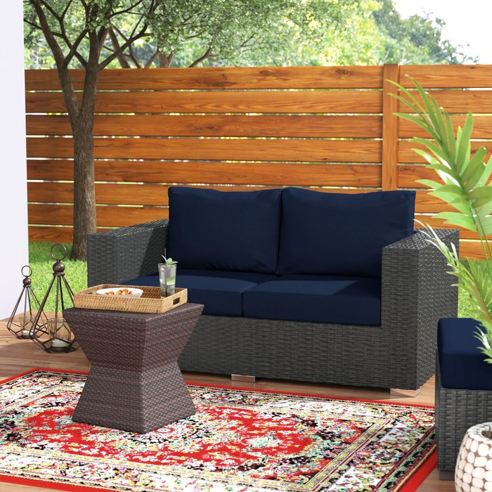 2019 Tripp Loveseat With Cushions For Tripp Sofa With Cushions (View 11 of 20)