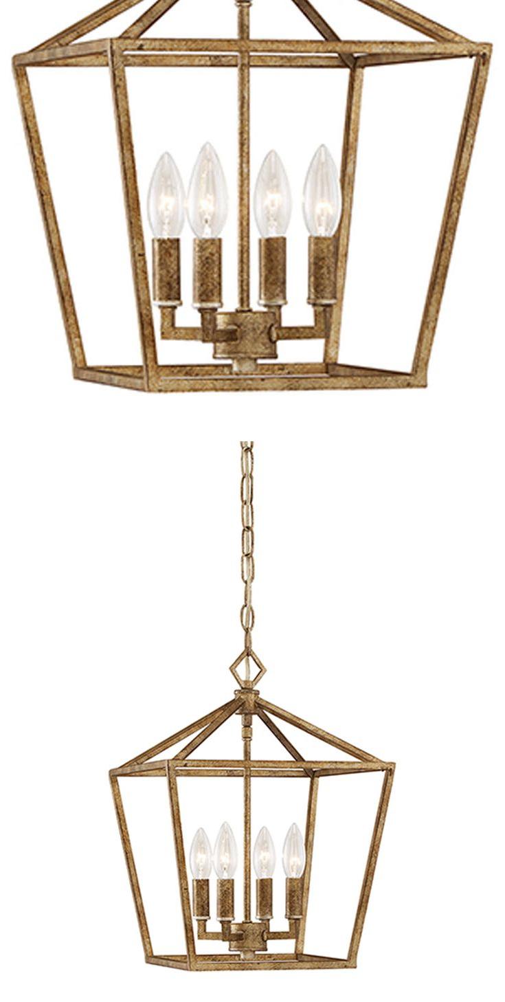 2019 Varnum 4 Light Lantern Pendants Pertaining To 251 First Kenwood Vintage Gold Four Light Lantern Pendant (Gallery 18 of 20)
