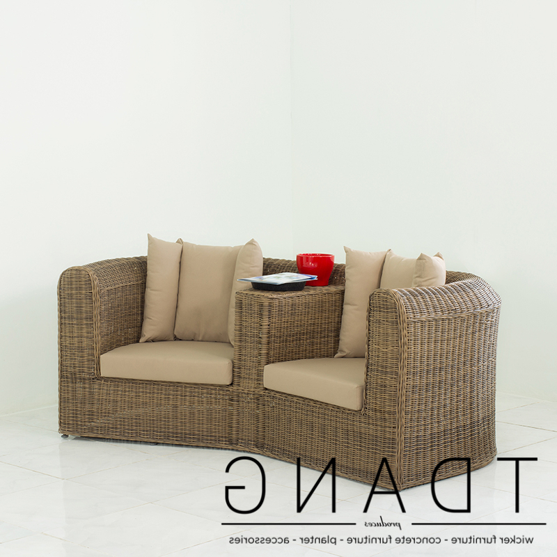 2019 Wicker Loveseats Regarding Why Should Choose Vietnam Wicker Sofas & Loveseats At Tdang? (View 12 of 20)