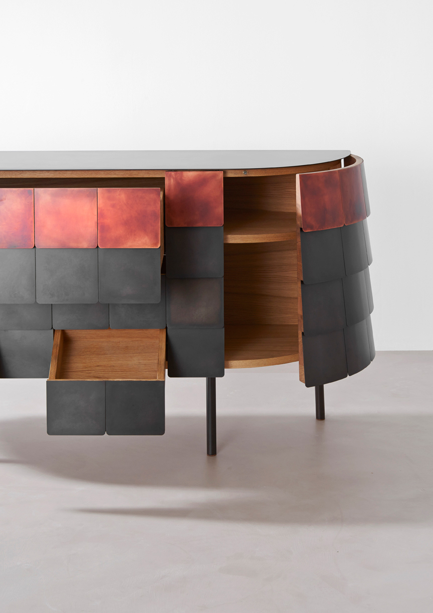 2019 Yoroi Sideboardalessandro Masturzo For De Castelli Within Castelli Sideboards (Gallery 13 of 20)