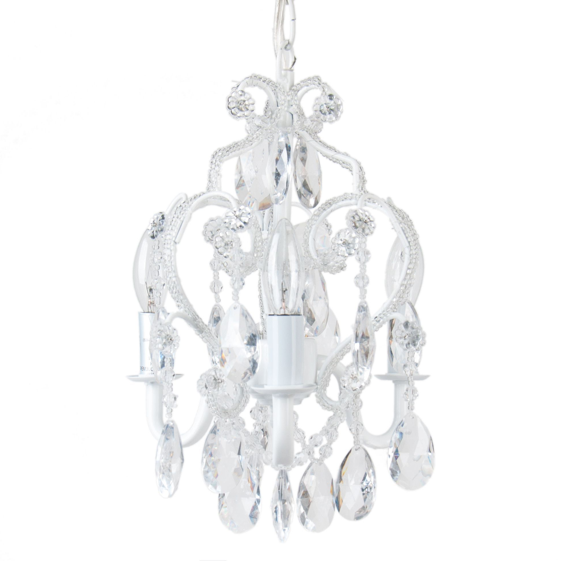 2020 3 Bulb Vintage Mini Chandelier (Gallery 16 of 20)