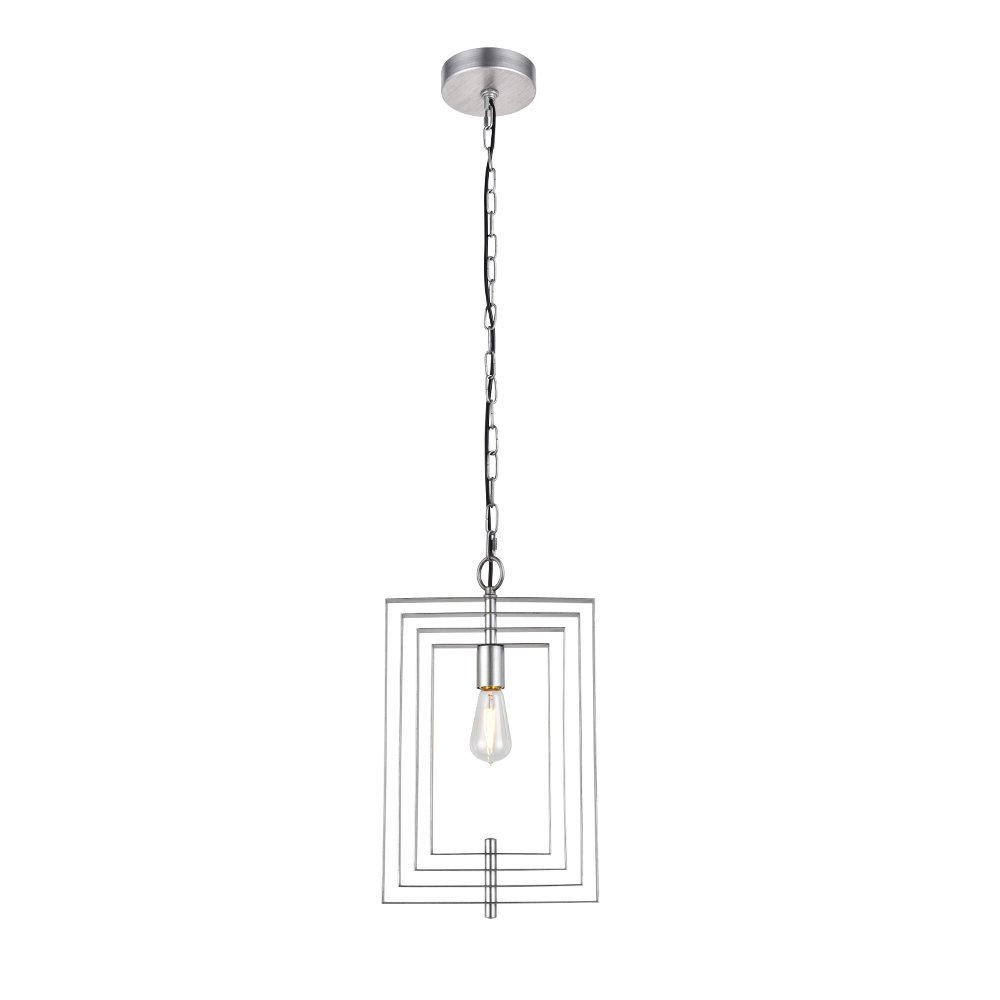 2020 Akash Industrial Vintage 1 Light Geometric Pendant Within Rockland 4 Light Geometric Pendants (Gallery 4 of 20)
