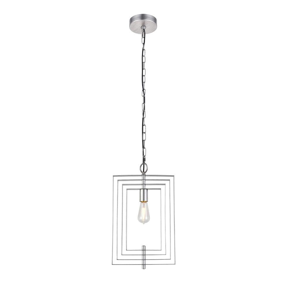 2020 Akash Industrial Vintage 1 Light Geometric Pendant Within Rockland 4 Light Geometric Pendants (Gallery 4 of 20)