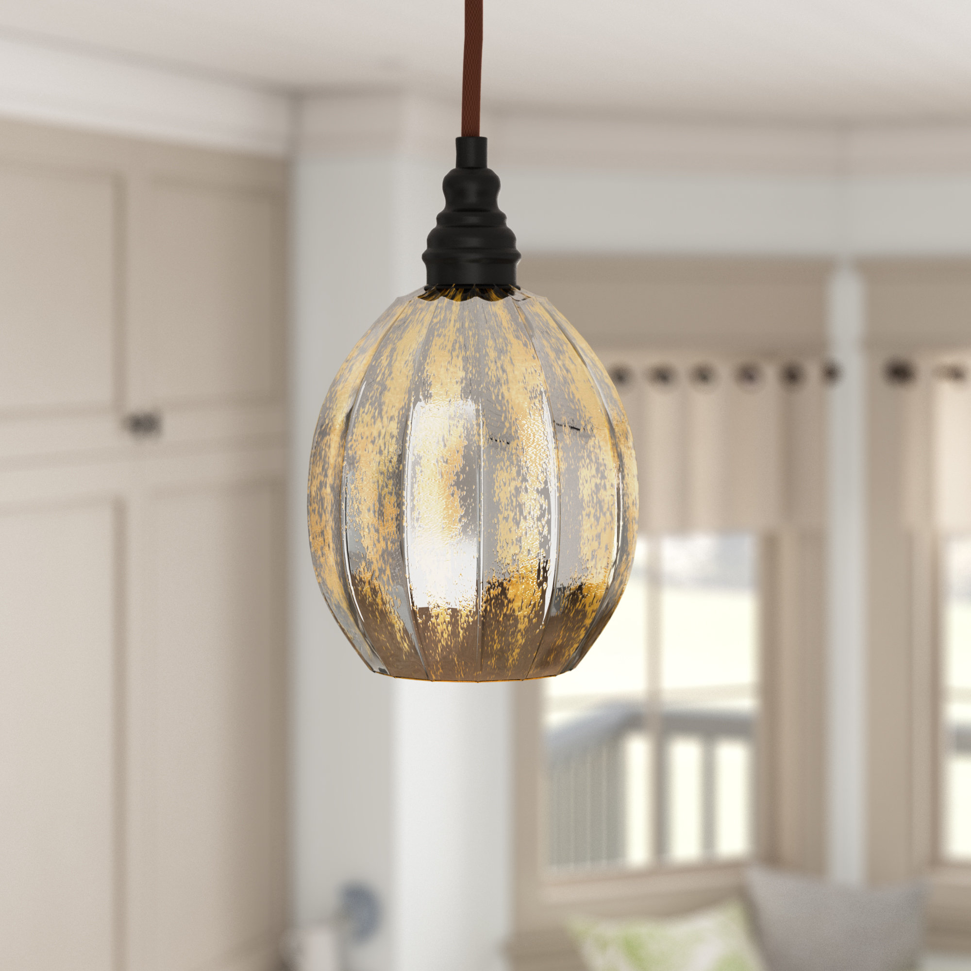 2020 Bellamira 1 Light Drum Pendants Inside Orofino 1 Light Globe Pendant (Gallery 17 of 20)