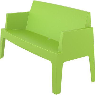 2020 Bence Plastic Outdoor Garden Bench (Gallery 3 of 20)