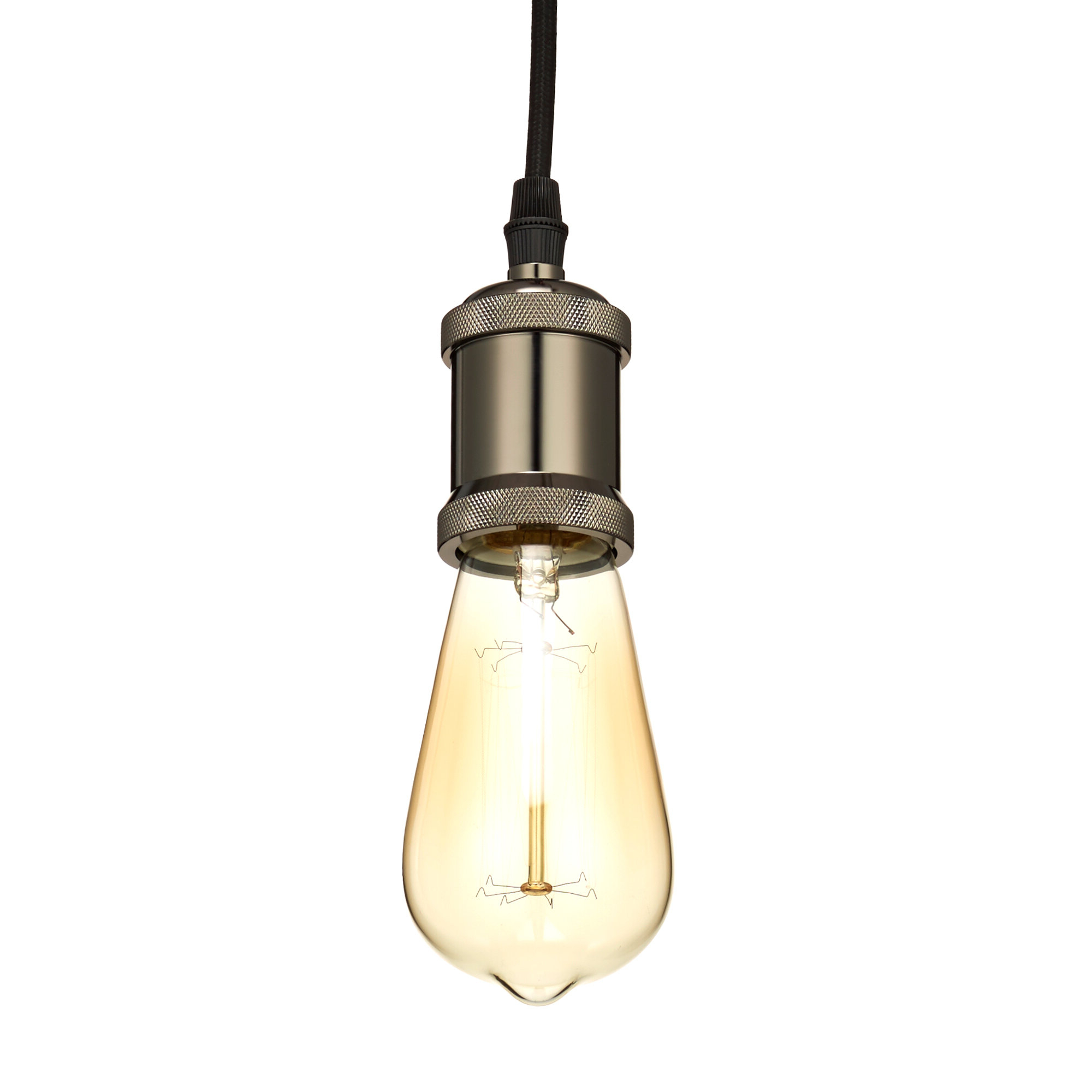 2020 Bryker 1 Light Single Bulb Pendants In Norbert Socket 1 Light Bulb Pendant (View 1 of 20)