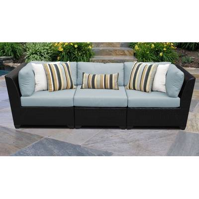 2020 Camak 7 Piece Sectional Seating Group With Cushions With Regard To Camak Patio Sofas With Cushions (View 1 of 20)