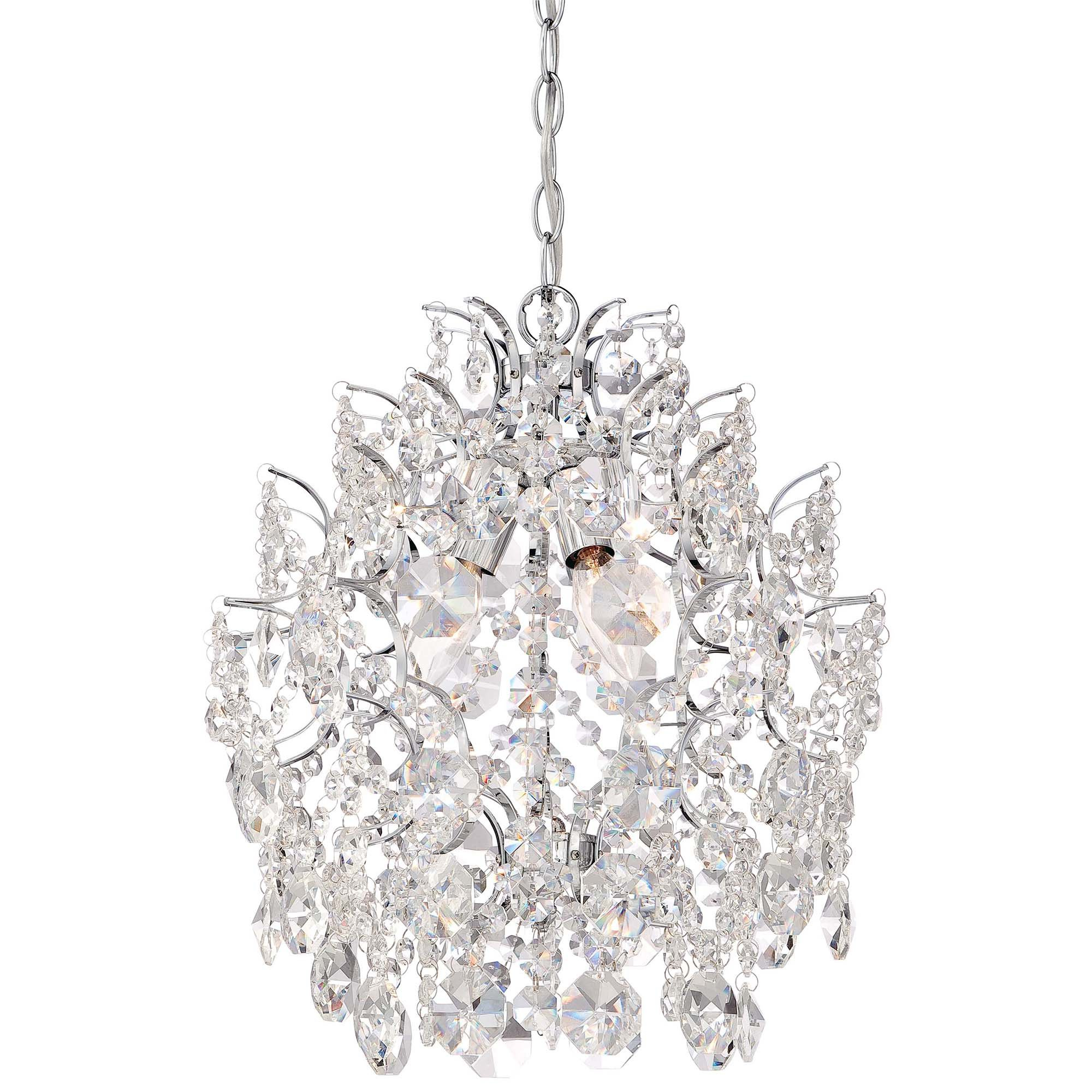 2020 Clea 3 Light Crystal Chandeliers In Willa Arlo Interiors Clea 3 Light Crystal Chandelier (Gallery 2 of 20)