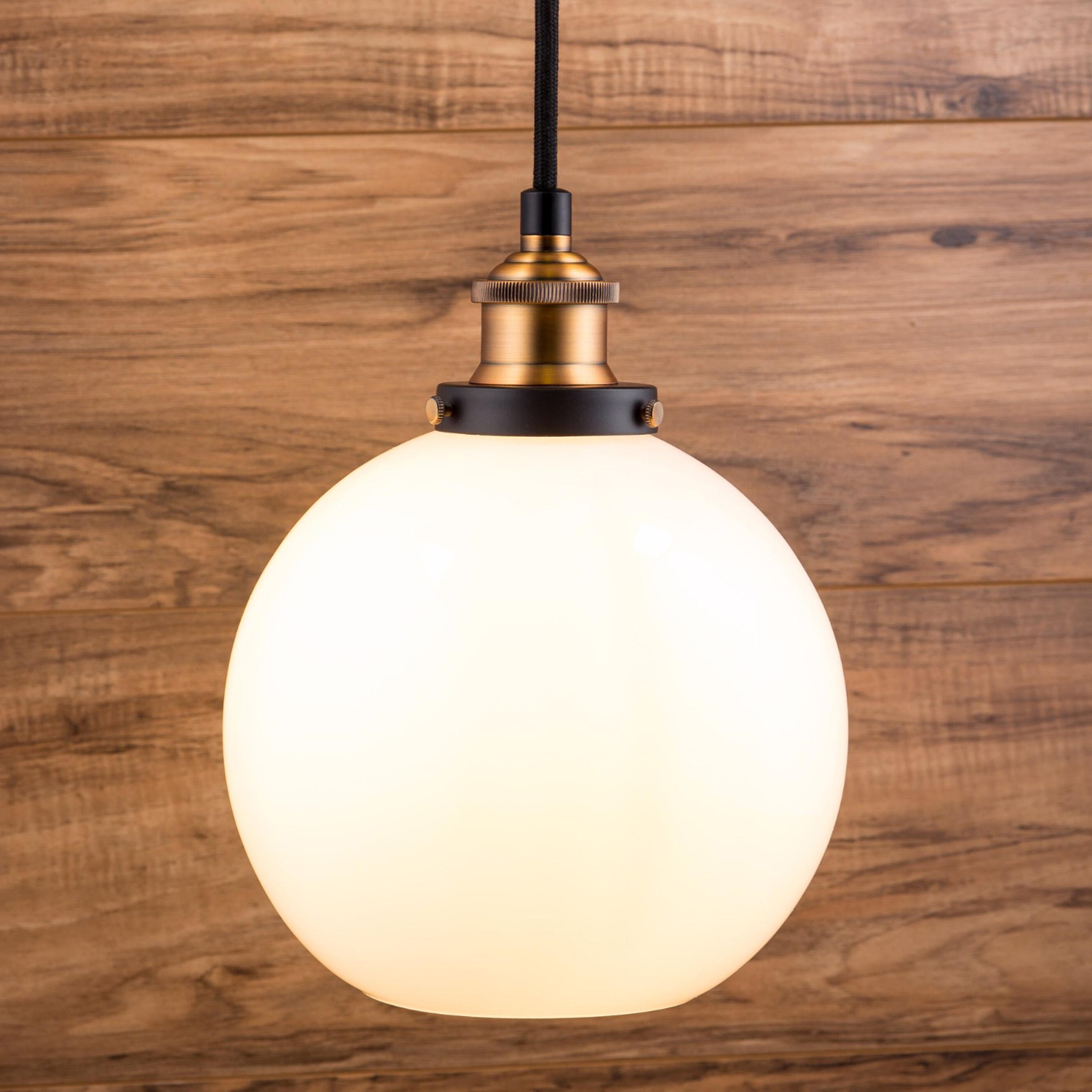 2020 Dunneback 1 Light Single Globe Pendant In Betsy 1 Light Single Globe Pendants (View 1 of 20)