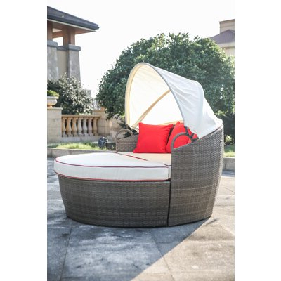 2020 Fansler Patio Daybed With Cushions (View 1 of 20)