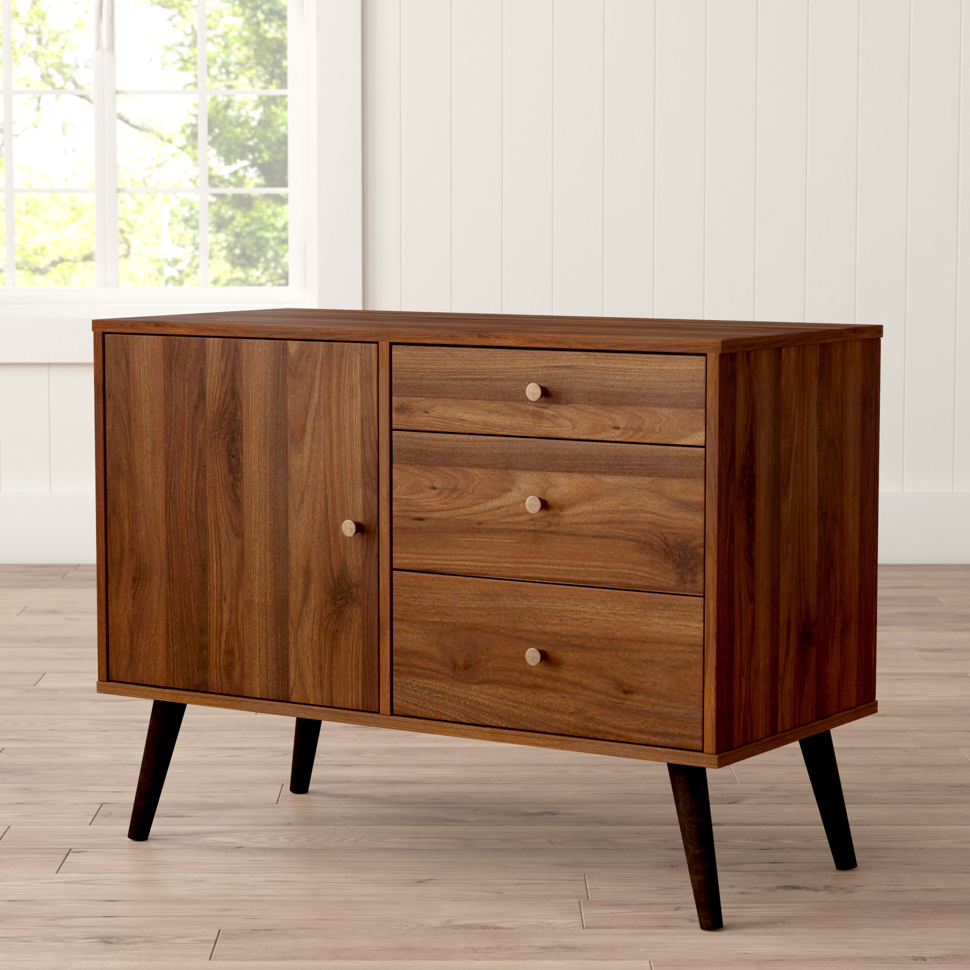 2020 Farmhouse & Rustic Brown Sideboards & Buffets (View 1 of 20)