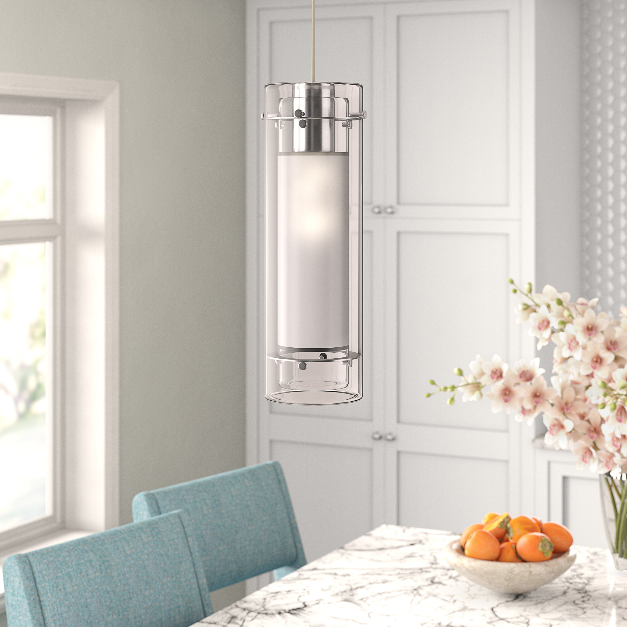 2020 Fennia 1 Light Single Cylinder Pendant With Regard To Fennia 1 Light Single Cylinder Pendants (View 1 of 20)