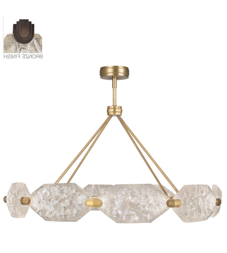 2020 Fine Art Lamps 873040 31st Allison Paladino 20 Light Pendant In Bronze Throughout Paladino 6 Light Chandeliers (View 12 of 20)