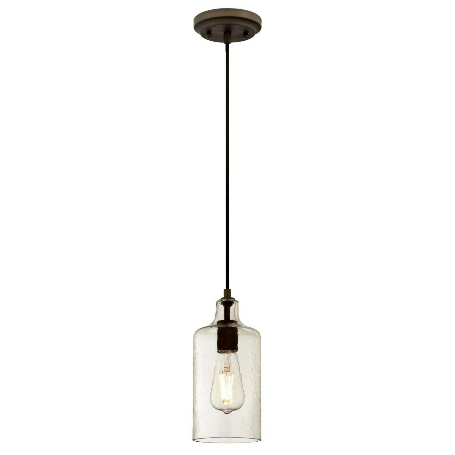 2020 Jayce 1 Light Cylinder Pendant In Jayce 1 Light Cylinder Pendants (View 1 of 20)