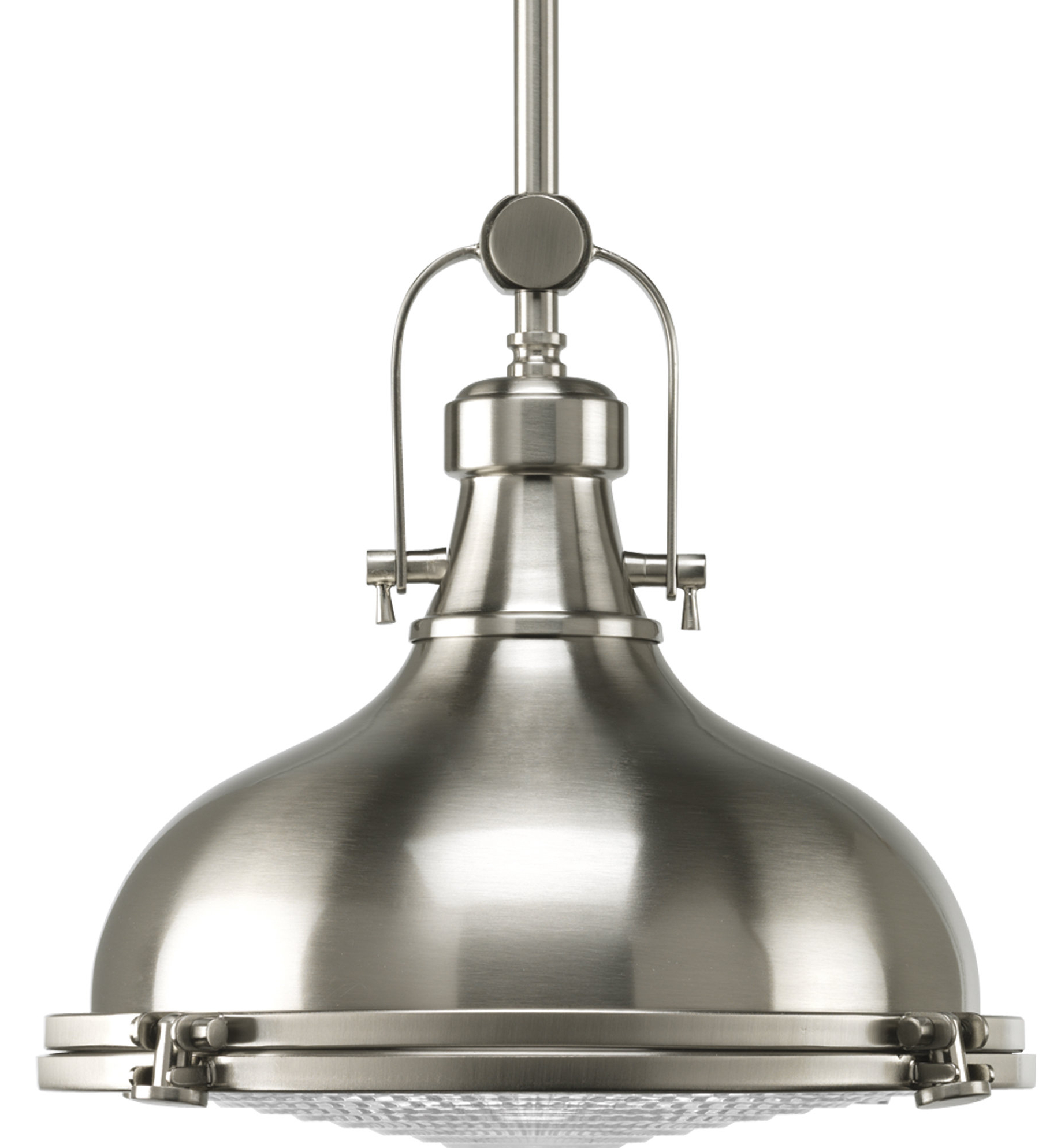 2020 Laurel Foundry Modern Farmhouse Freeda 1 Light Single Dome Pendant With Regard To Granville 3 Light Single Dome Pendants (View 3 of 20)