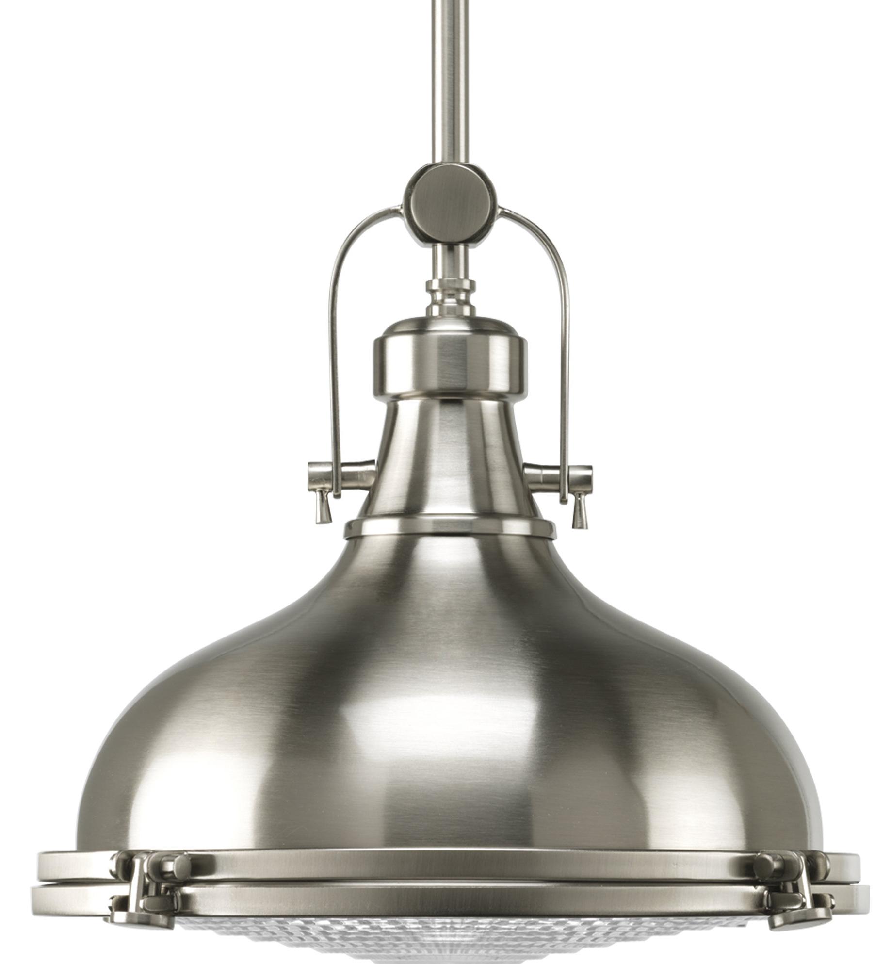 2020 Laurel Foundry Modern Farmhouse Freeda 1 Light Single Dome Pendant With Regard To Granville 3 Light Single Dome Pendants (View 3 of 20)