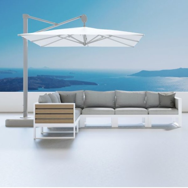 2020 Madison Avenue Patio Sectionals With Sunbrella Cushions Regarding Modern & Contemporary Outdoor Sectional Sunbrella (Gallery 6 of 20)