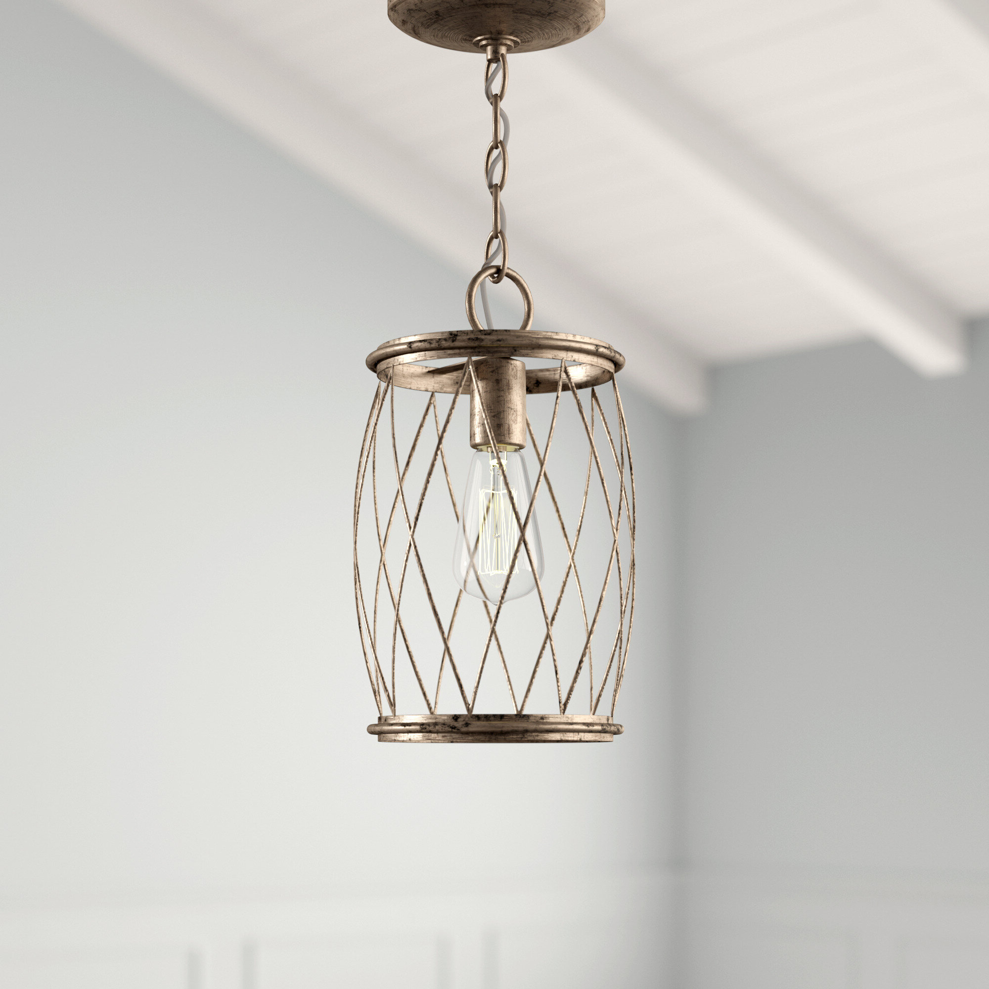 2020 Meryl 1 Light Single Cylinder Pendant With Regard To Poynter 1 Light Single Cylinder Pendants (Gallery 5 of 20)
