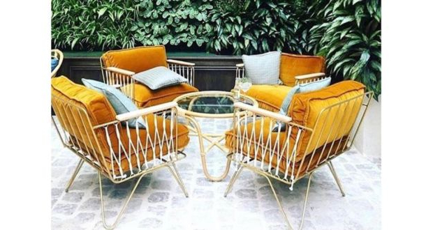 2020 Oreland Patio Sofas With Cushions Pertaining To Eight Of The Best Garden Furniture Designs (View 1 of 20)