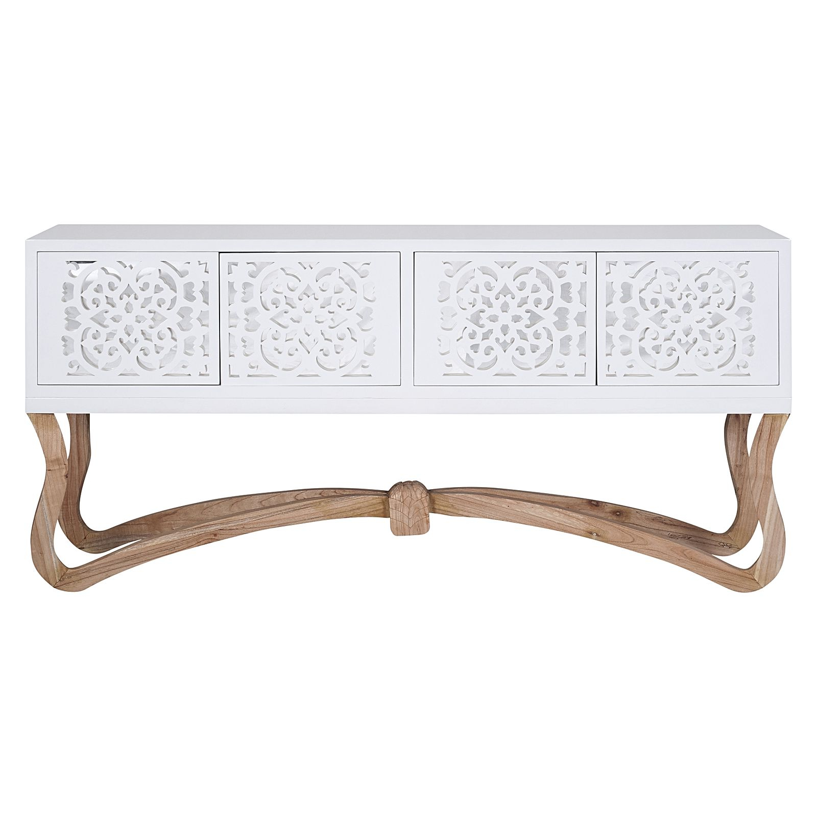 2020 Sienna Sideboards With Regard To Sienna Sideboard, White, Large (View 12 of 20)