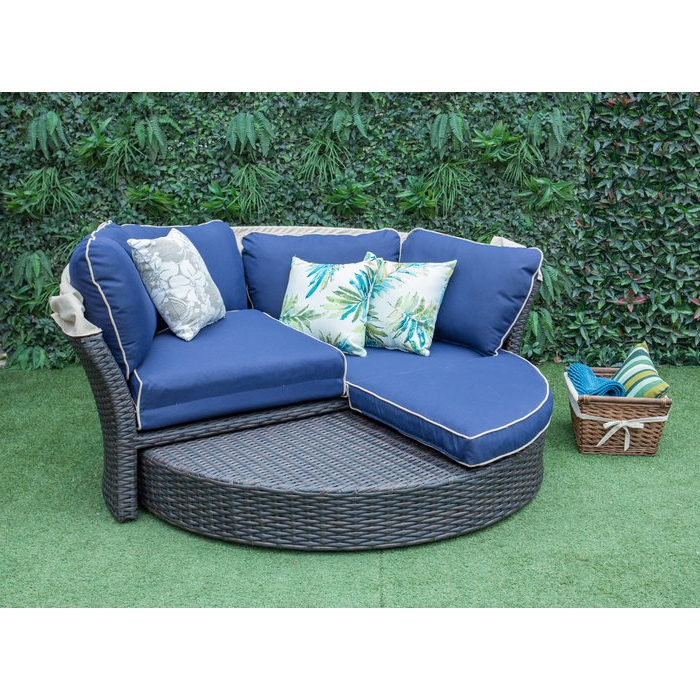 2020 Tiana Patio Daybeds With Cushions With Tiana Patio Daybed With Cushions (Gallery 2 of 20)