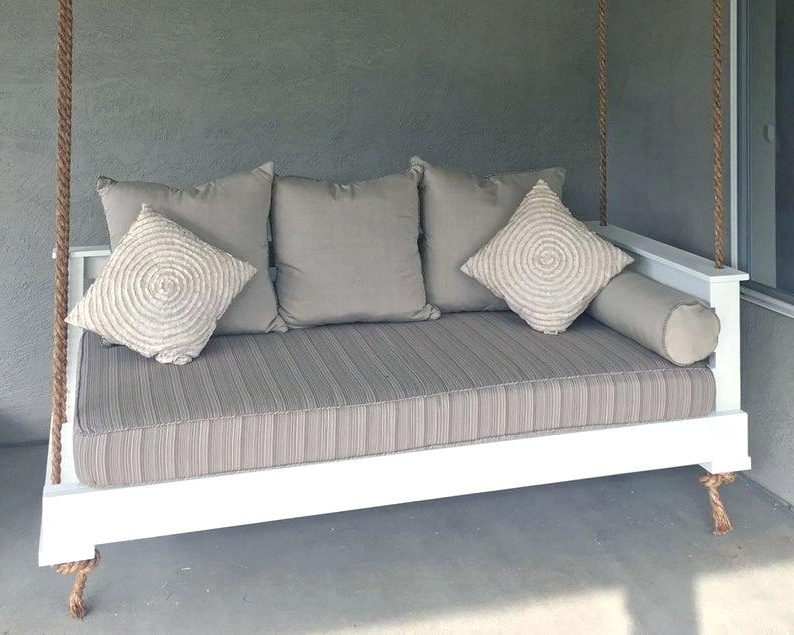 2020 Tripp Patio Daybeds With Cushions Regarding Outdoor Daybed Sunbrella – Meisenheimer (View 2 of 20)