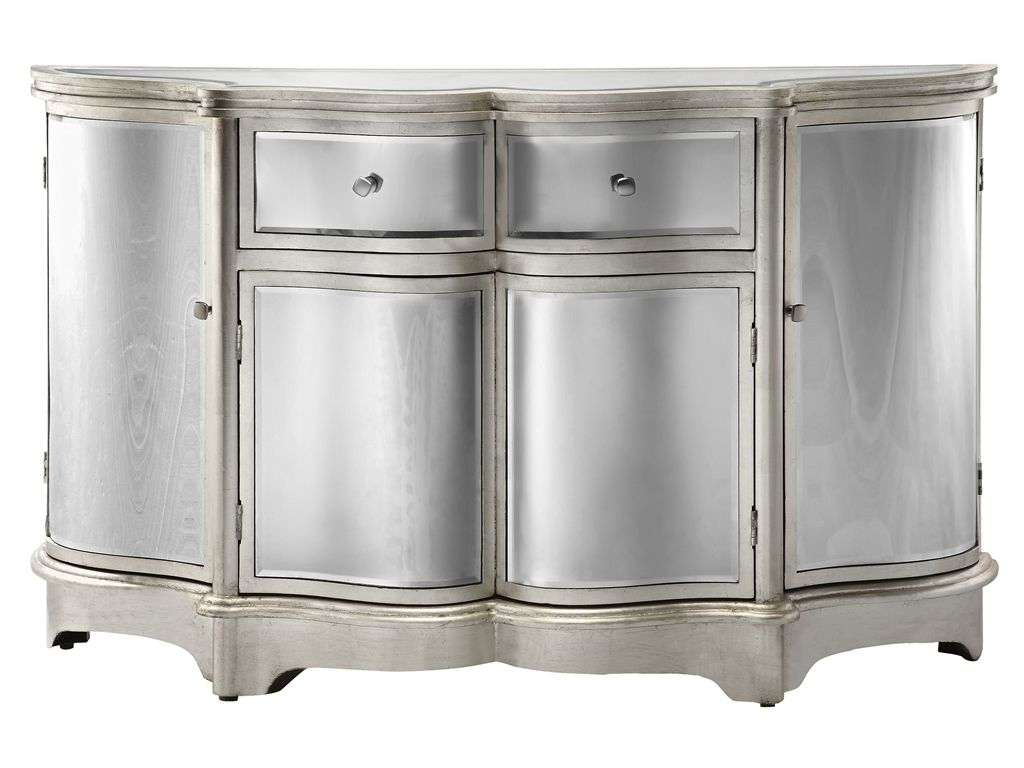 2020 Wattisham Sideboards Throughout Dazzling Credenza Or Sideboard Featuring Curved Bent Mirror (Gallery 4 of 20)