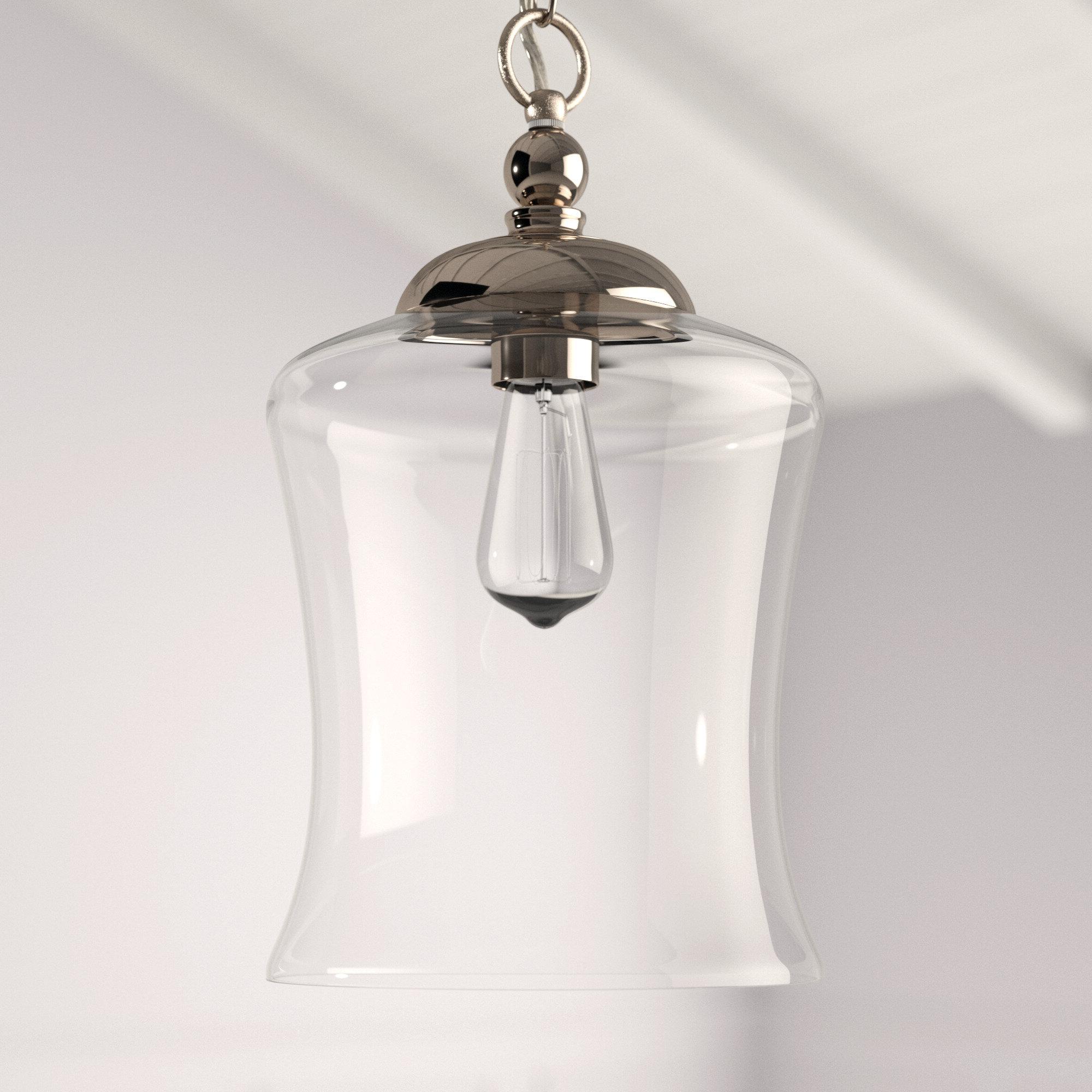 2020 Wentzville 1 Light Single Bell Pendant Pertaining To Sargent 1 Light Single Bell Pendants (Gallery 13 of 20)