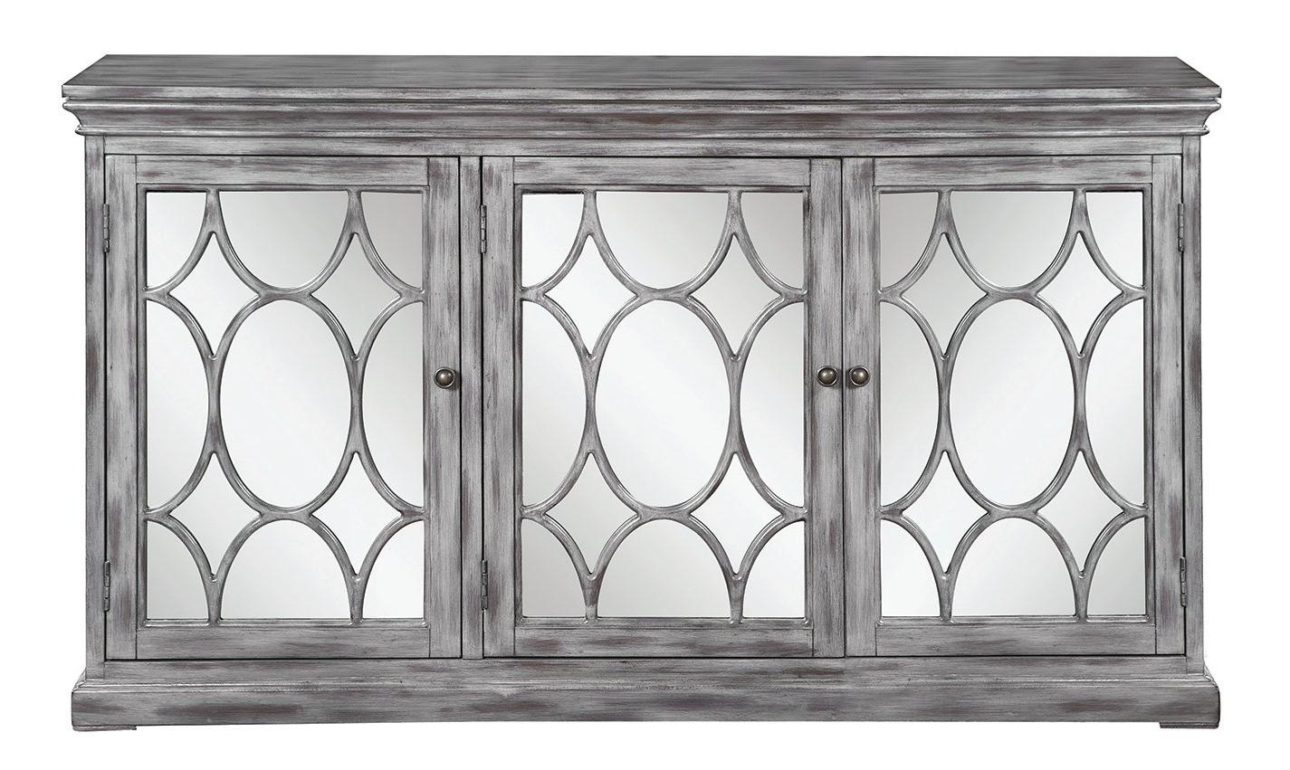 3 Door Accent Cabinet With Regard To Current Mauldin 3 Door Sideboards (View 6 of 20)