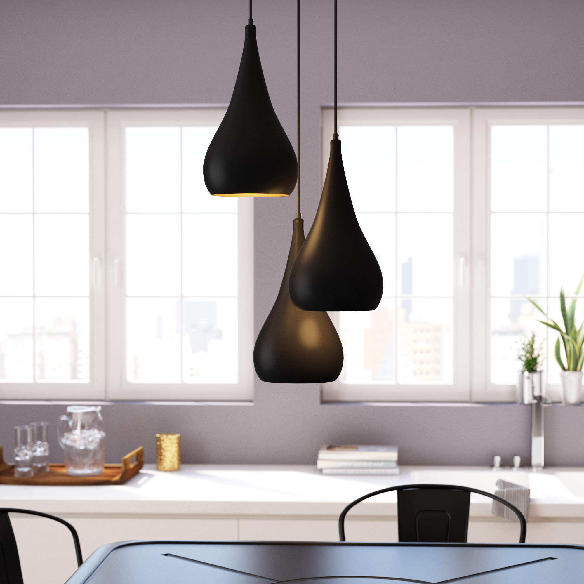 3 Light Cluster Pendant Lighting You'll Love In 2019 (Gallery 18 of 20)