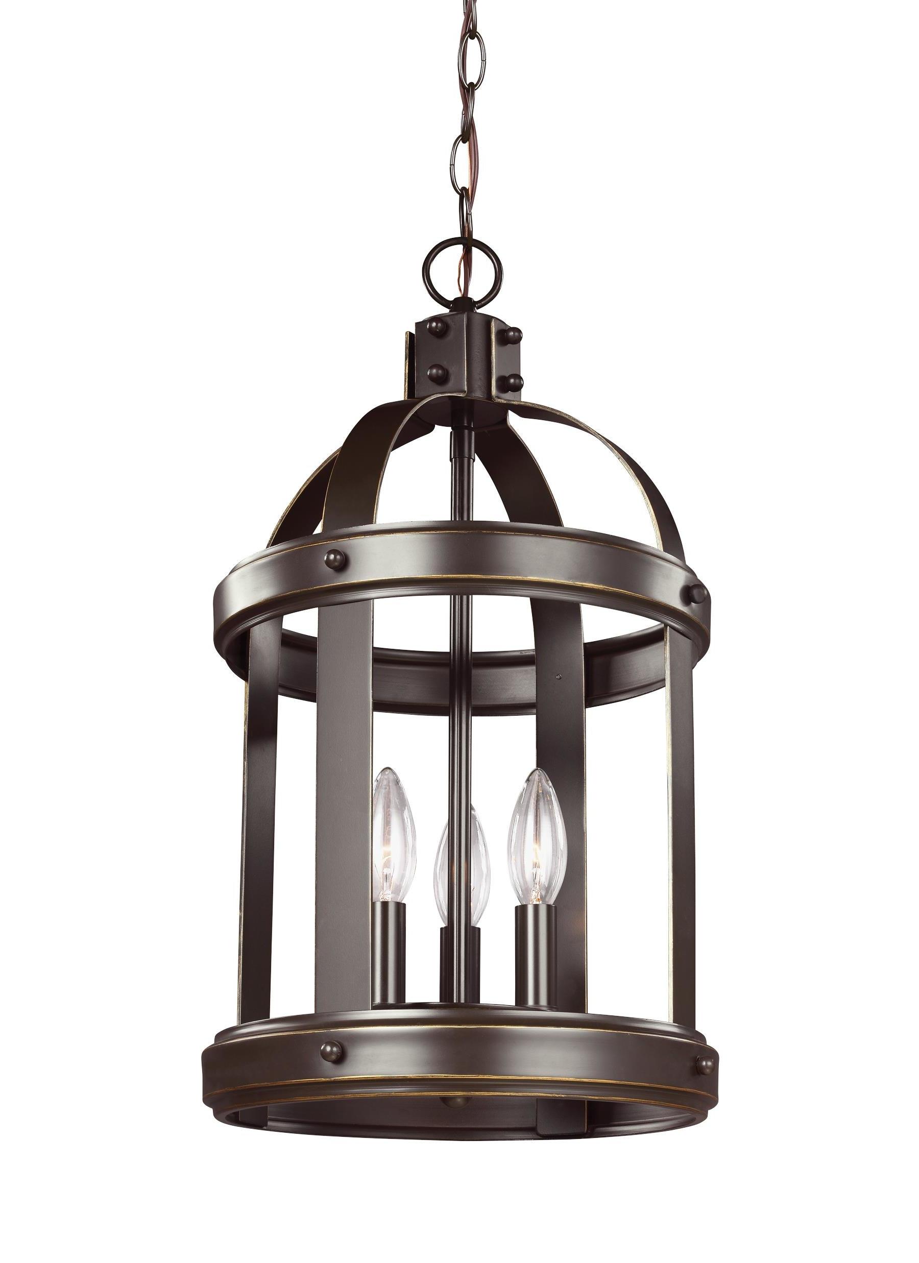 3 Light Lantern Cylinder Pendants Pertaining To Well Known Pawling 3 Light Lantern Cylinder Pendant (View 4 of 20)