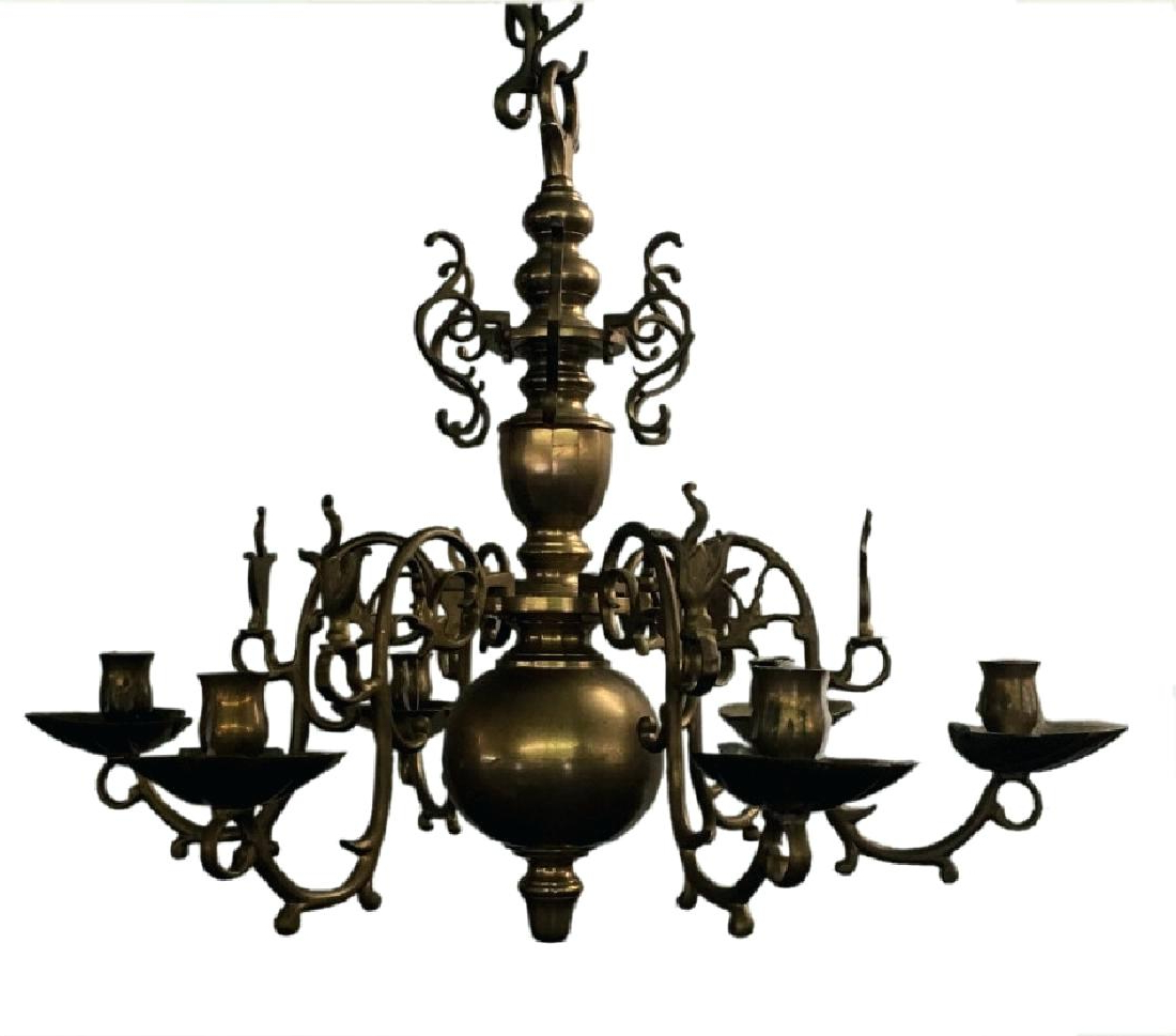 5 Candle Chandelier – Purrfectcatgifts (View 2 of 20)
