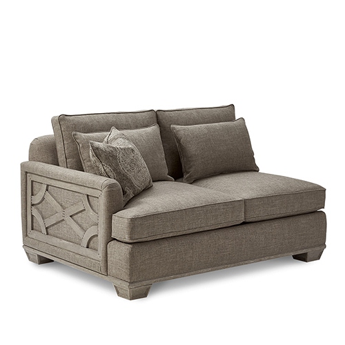 A.r.t. Furniture Arch Salvage Jardin 2 Cushion Laf Loveseat Within Most Recent Vardin Loveseats With Cushions (Gallery 7 of 20)