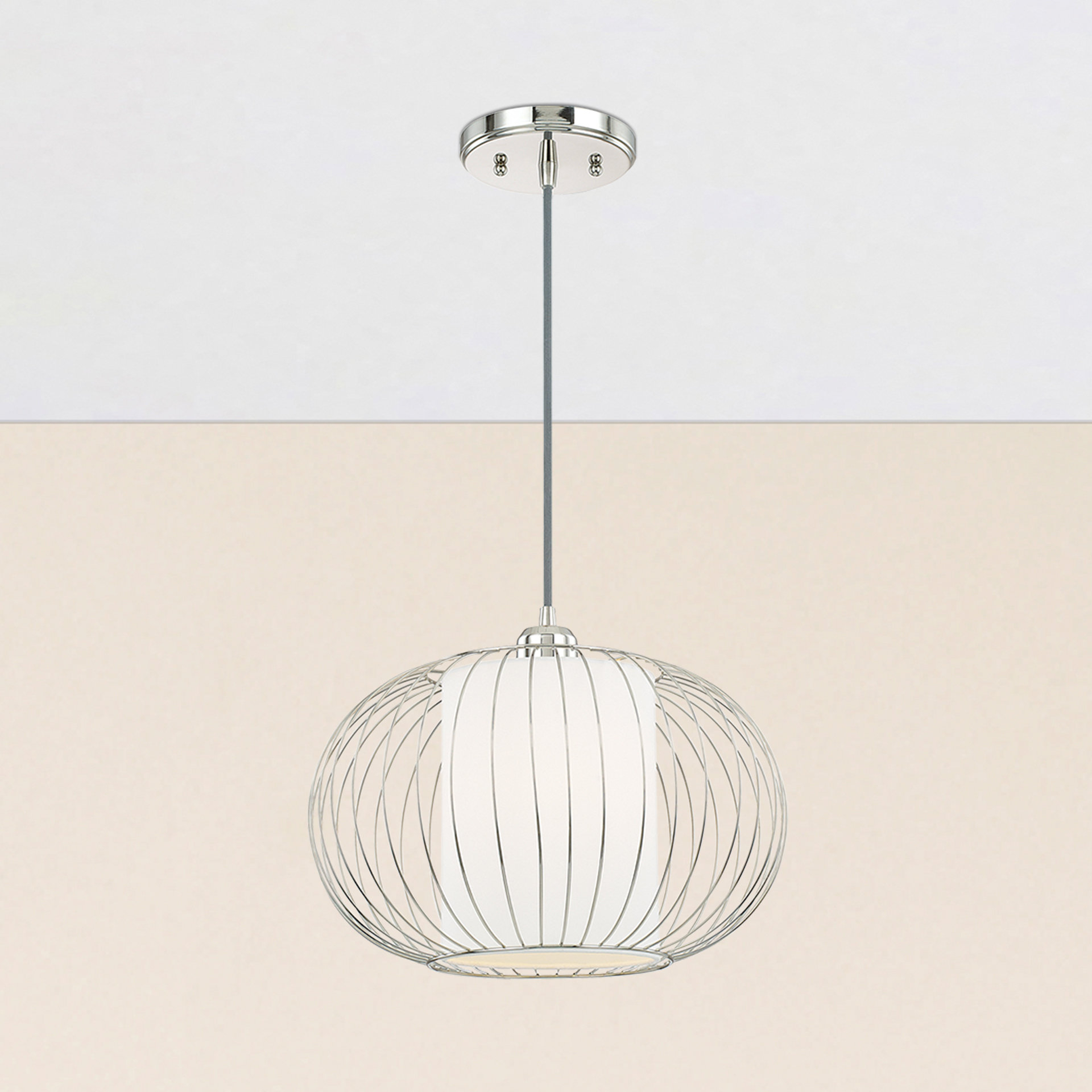 Abadie 1 Light Globe Pendant Pertaining To Most Up To Date Demi 1 Light Globe Pendants (View 2 of 20)