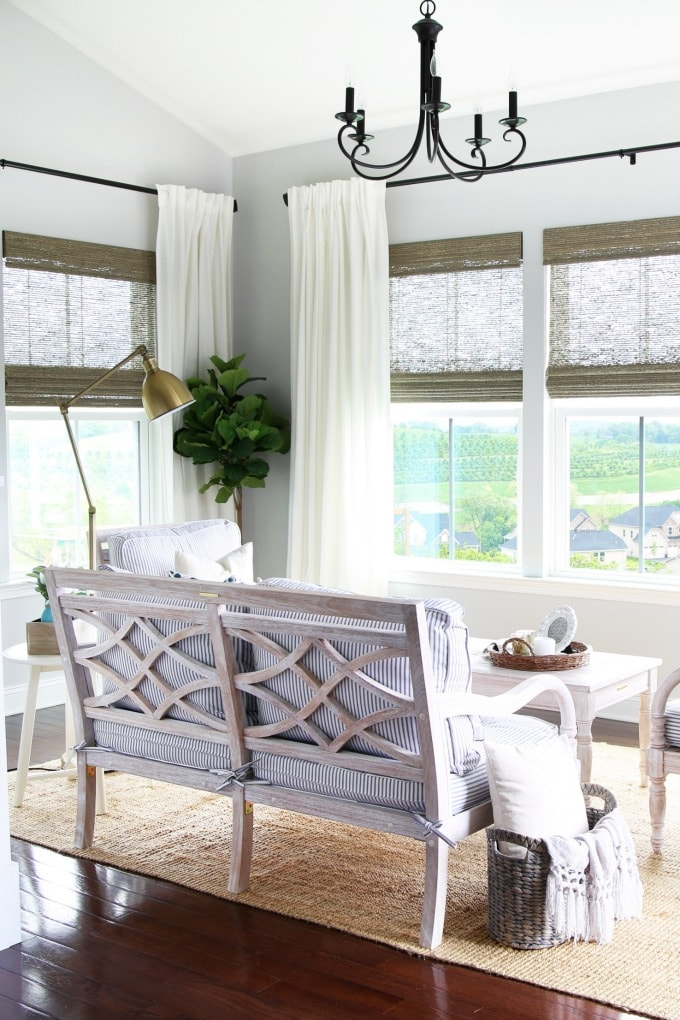 Abby Lawson Throughout Favorite Bullock Outdoor Wooden Loveseats With Cushions (View 3 of 20)