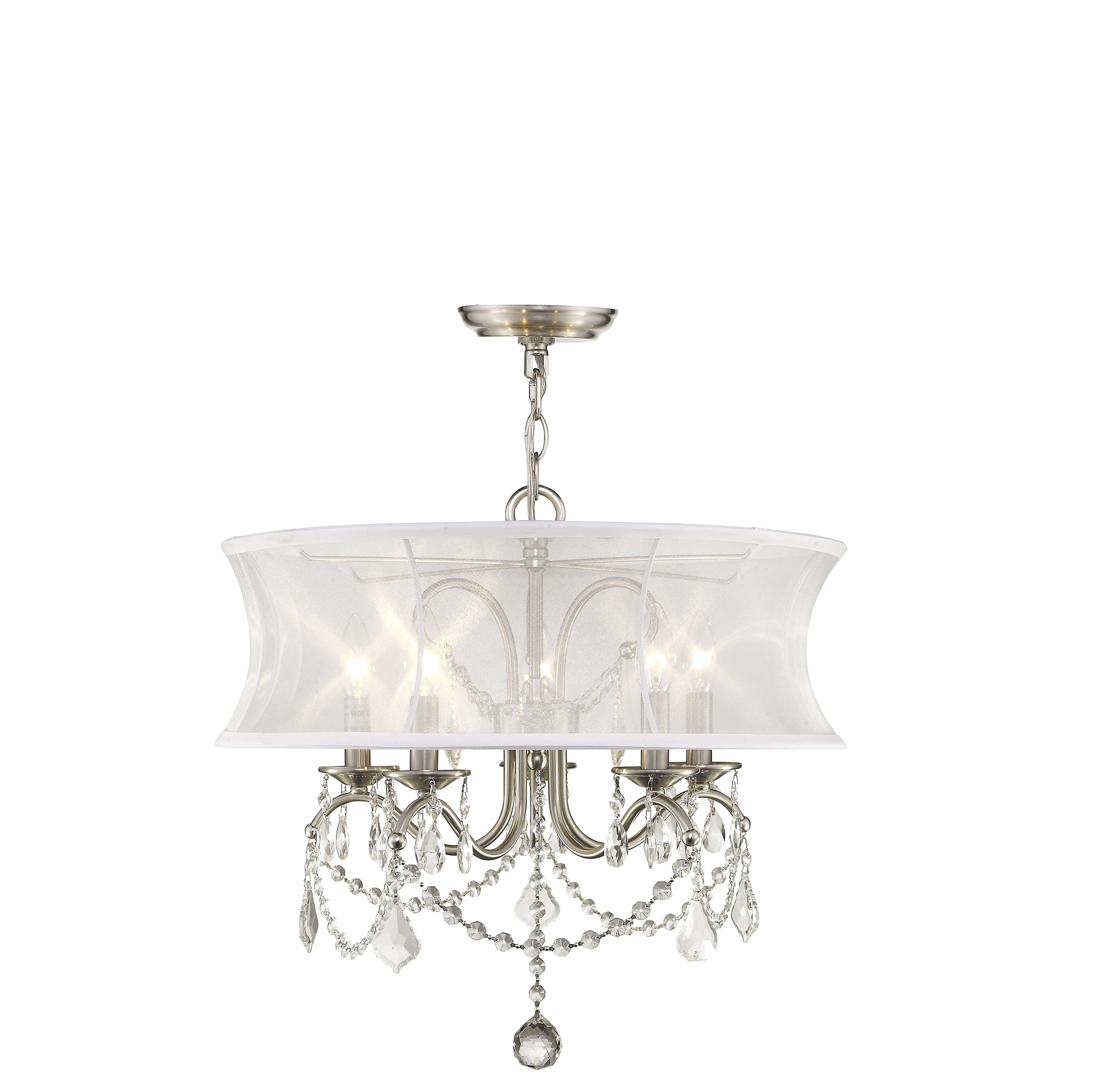 Abel 5 Light Drum Chandeliers With Well Liked Willa Arlo Interiors Aubrianne Drum Chandelier (View 18 of 20)