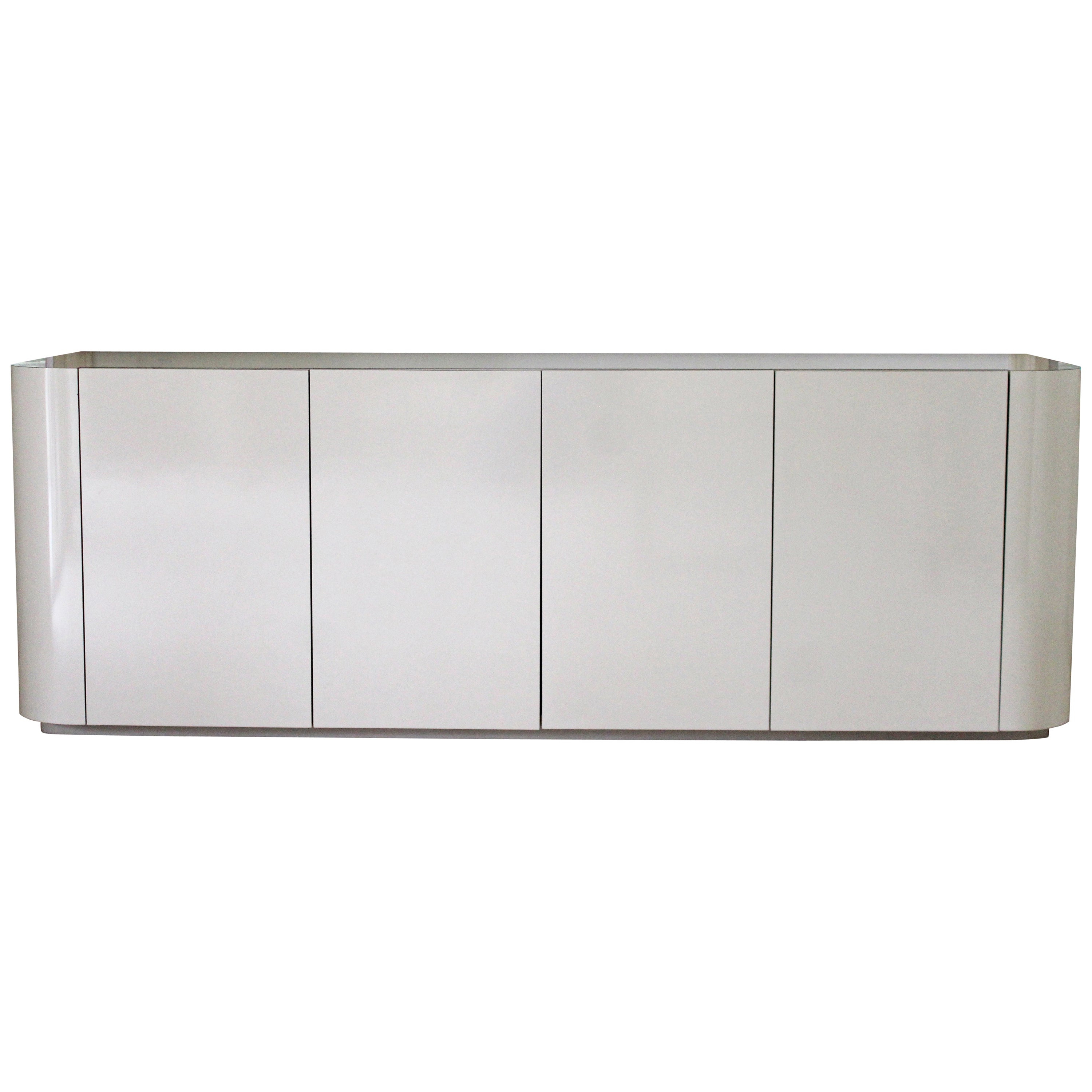 Abhinav Credenzas Pertaining To Current White Credenza Cabinet (View 4 of 20)