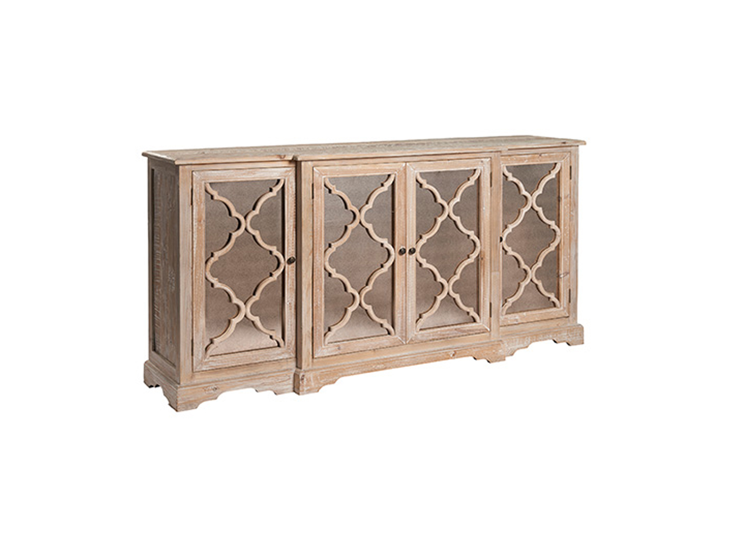 Acepello Lowery Four Door Sideboard From Dansk With Most Up To Date Ruskin Sideboards (View 3 of 20)