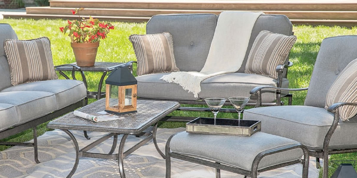 Agio Madison Outdoor Furniture Intended For Current Madison Avenue Patio Sectionals With Sunbrella Cushions (View 19 of 20)
