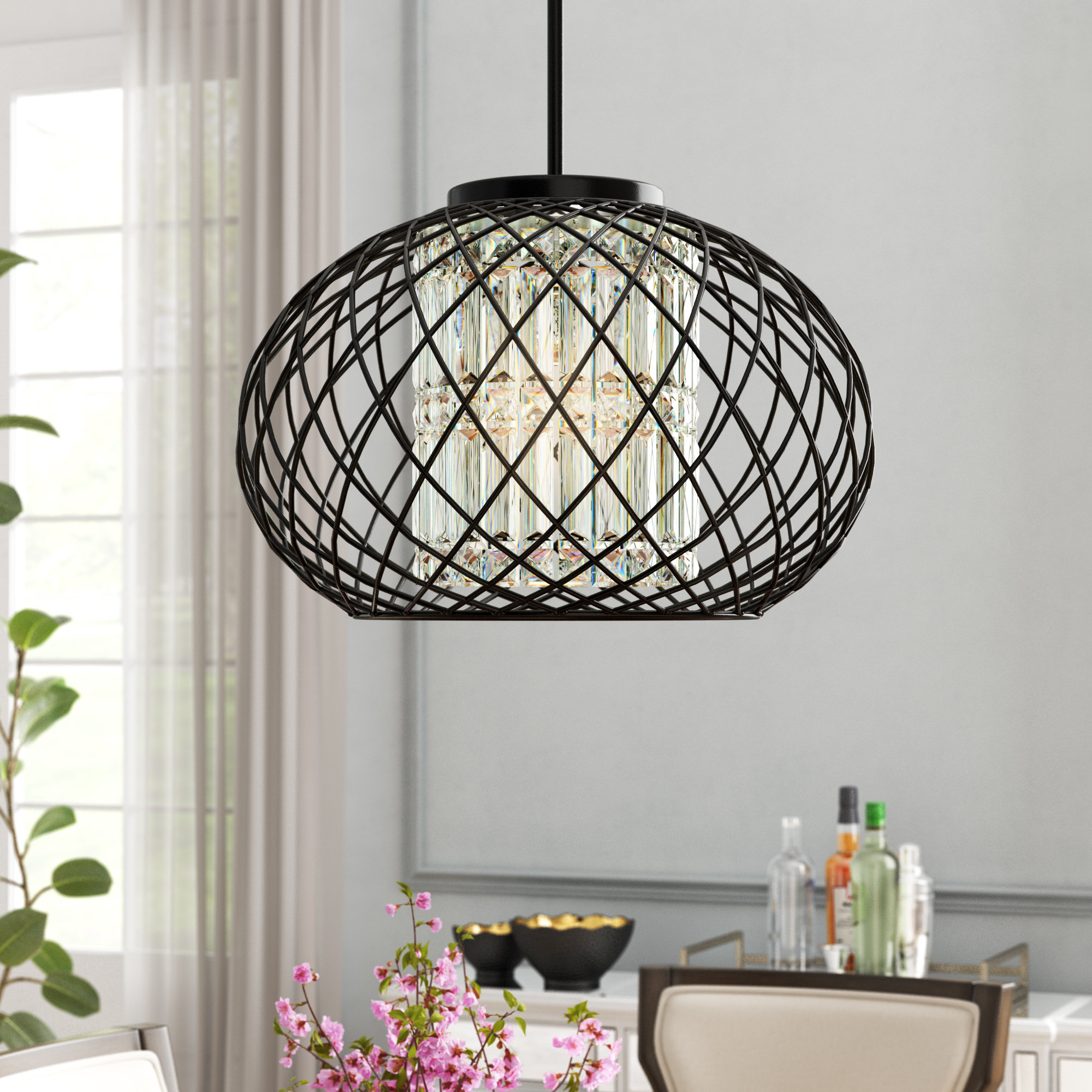 Alden 3 Light Single Globe Pendants For Well Known Leicester 3 Light Globe Chandelier (Gallery 15 of 20)
