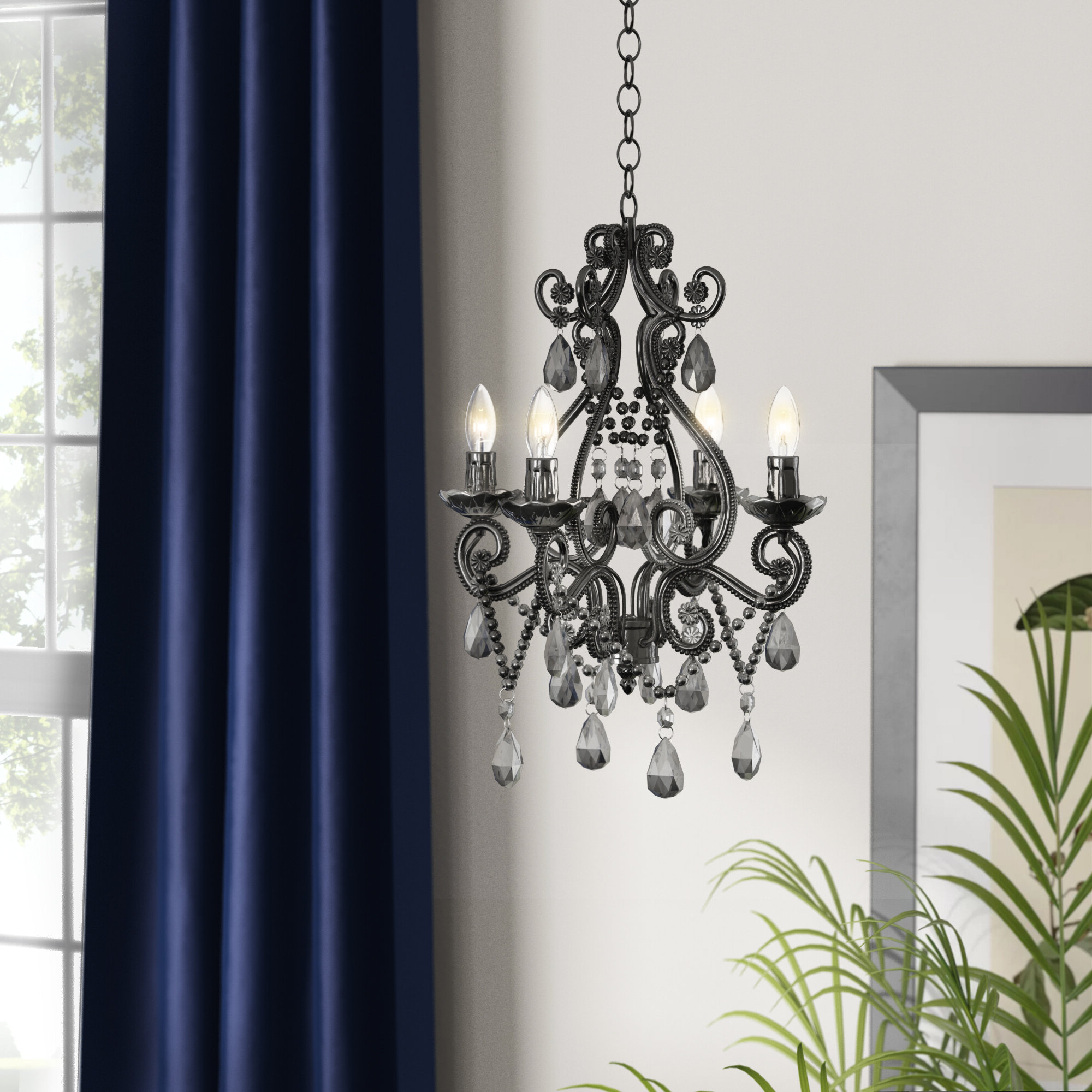 Aldora 4 Light Candle Style Chandelier Pertaining To Latest Aldora 4 Light Candle Style Chandeliers (View 5 of 20)