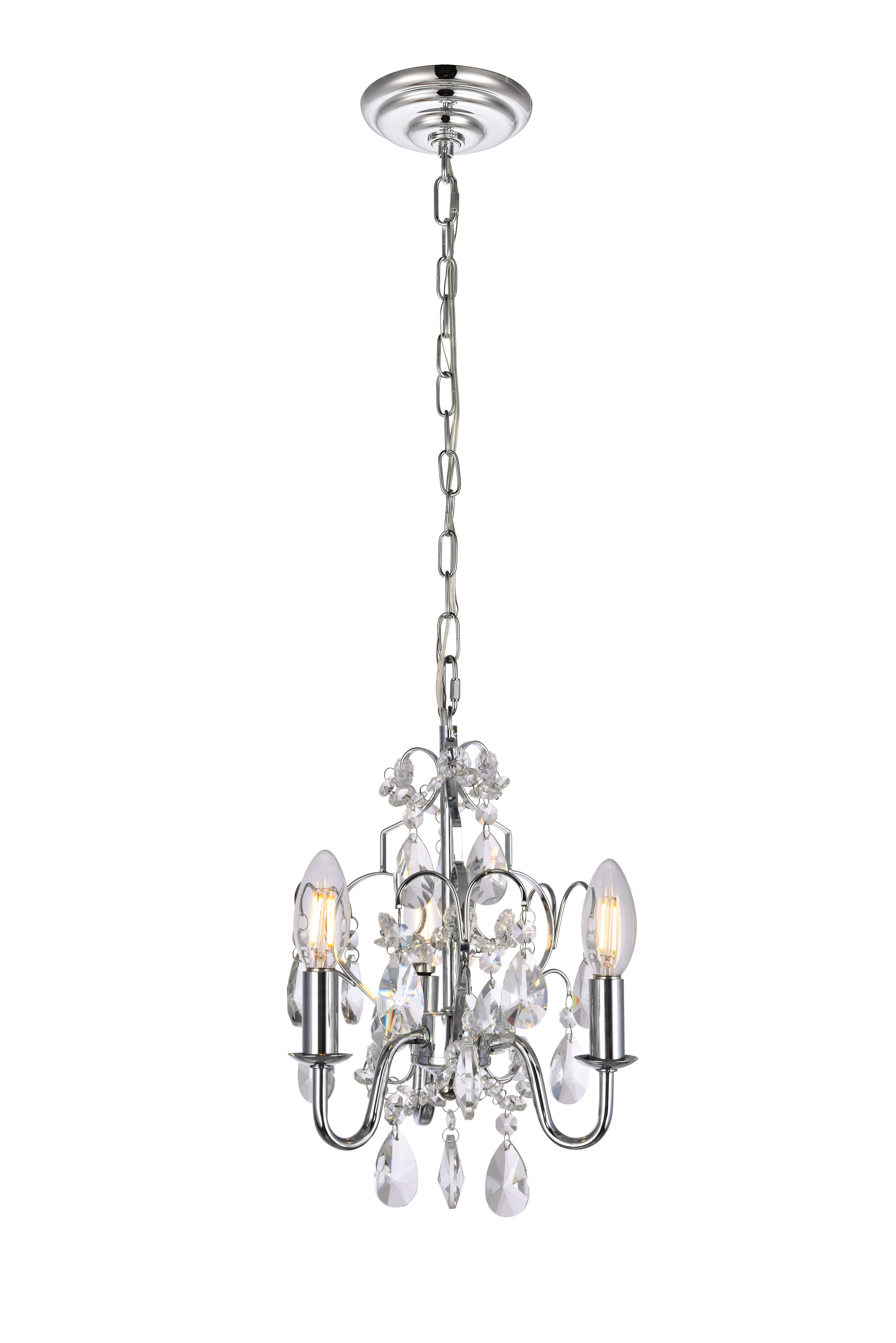 Aldora 4 Light Candle Style Chandeliers Inside Current Dagnall 3 Light Candle Style Chandelier (View 8 of 20)