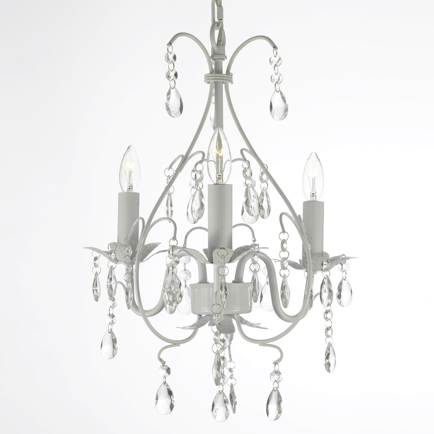 Aldora 4 Light Candle Style Chandeliers Intended For Popular Evon 3 Light Led Candle Style Chandelier (View 10 of 20)