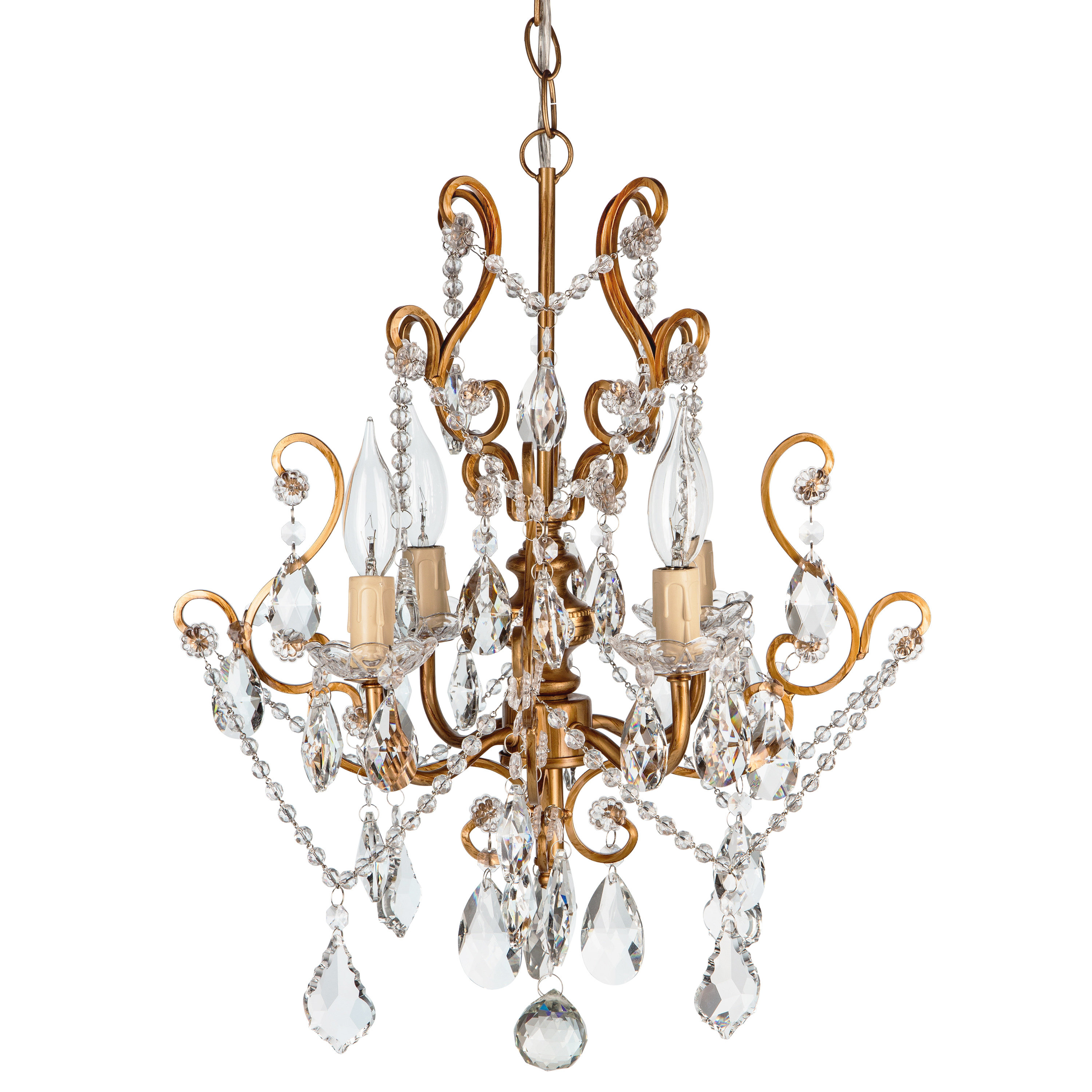 Aldora 4 Light Candle Style Chandeliers Pertaining To Widely Used Flemington 4 Light Candle Style Chandelier (View 11 of 20)