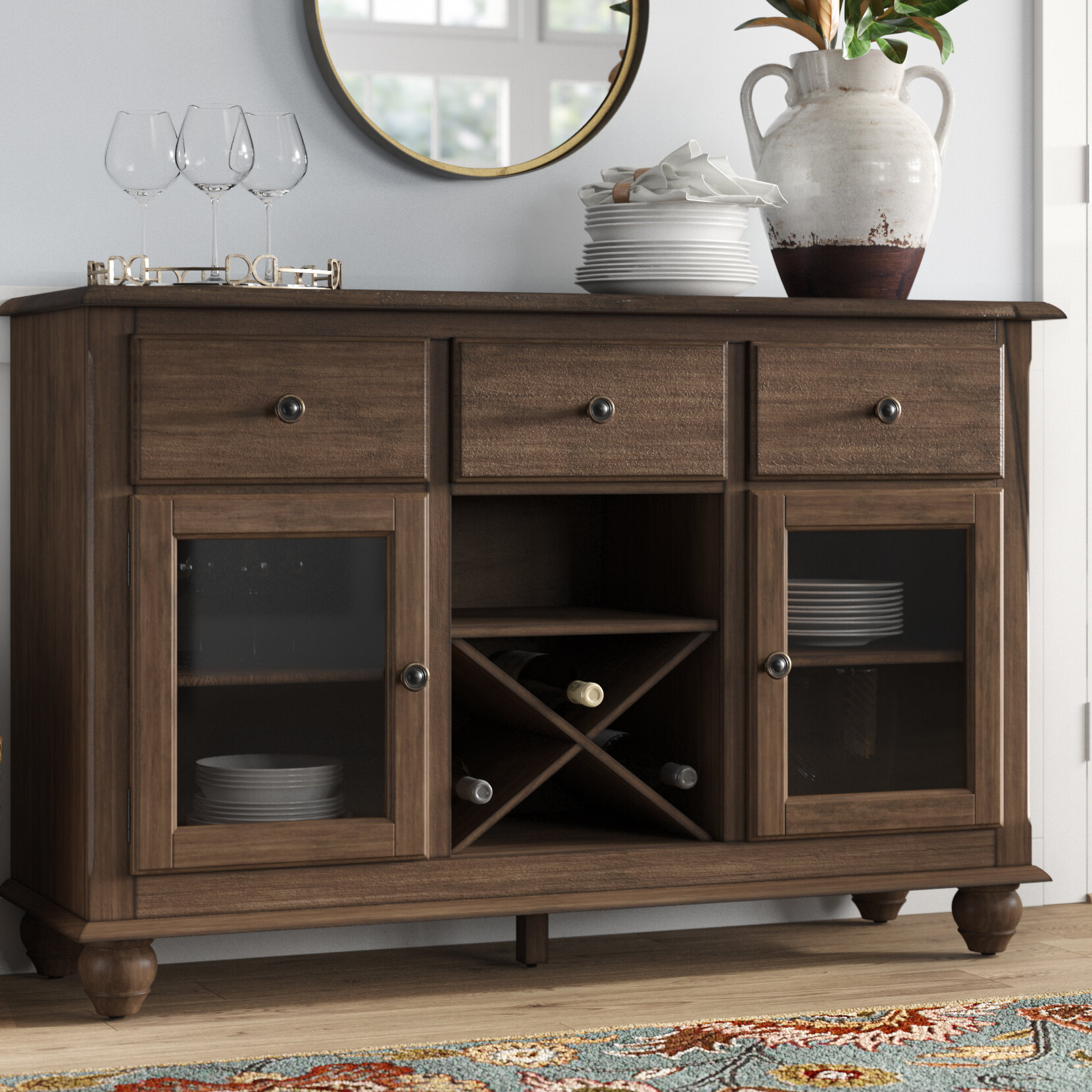 Alegre Sideboards With Popular Perez Sideboard (Gallery 9 of 20)